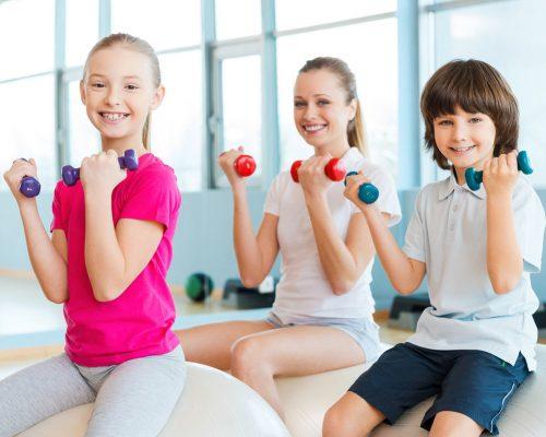 Фитнес для детей – какой вид лучше