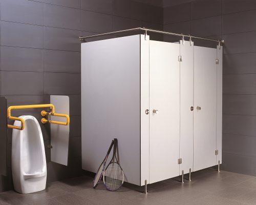 Представляем сантехнические перегородки для оформления помещения